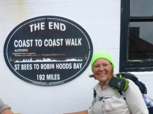 Coast to Coast Walk - the end